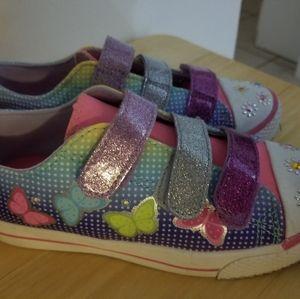 Pastel Rainbow Light-Up Airwalks-Size 13.5